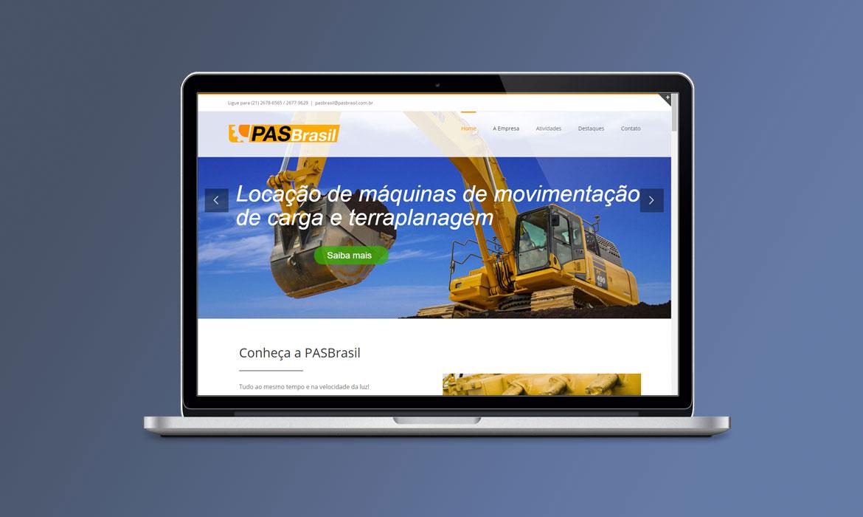 Novo site PASBrasil