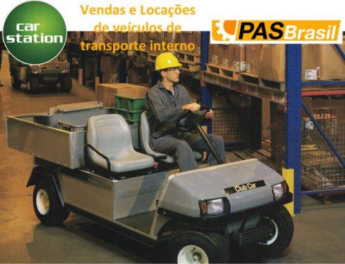 Parceria PASBrasil com Car Station – Veículos elétricos de transporte interno