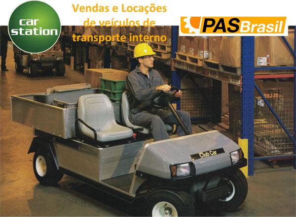 Venda e Locação de veículos elétricos para transporte interno
