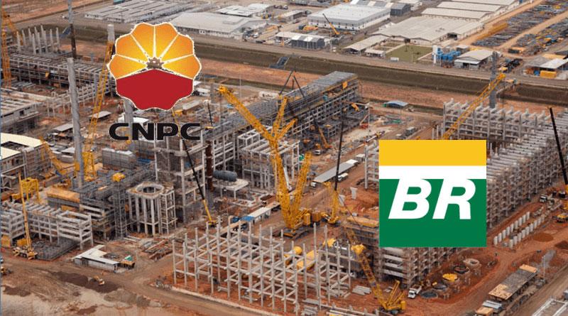notícia CNPC e Petrobras